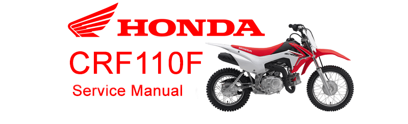 Honda Crf110 Service Manual  Free Crf110f Pit Bike Repair